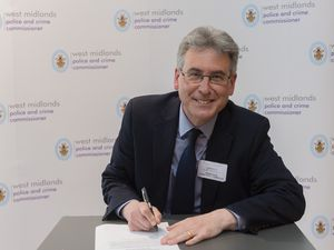 The new Police and Crime Commissioner for the West Midlands Simon Foster