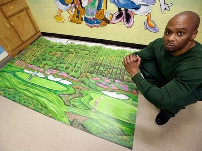 How painting golf courses helped an inmate get exonerated over murder conviction