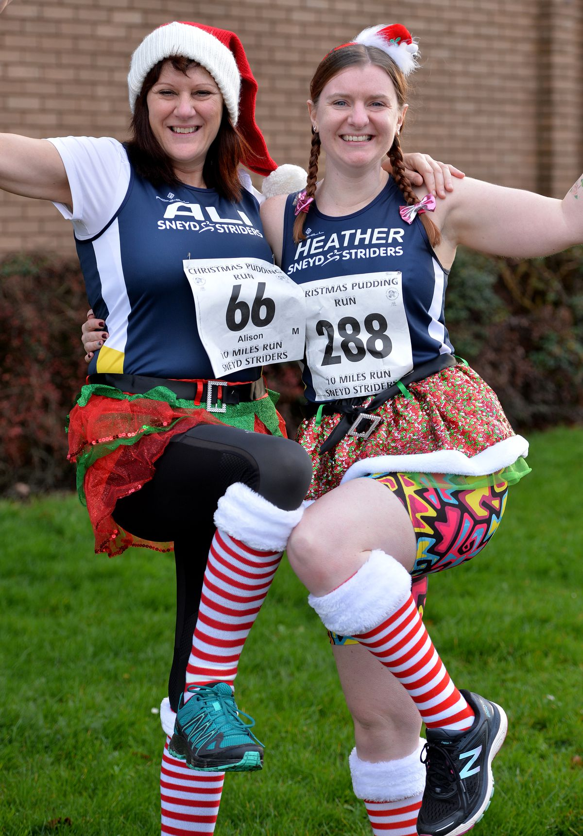 Ali Lee from Willenhall and Heather Bates from Cannock