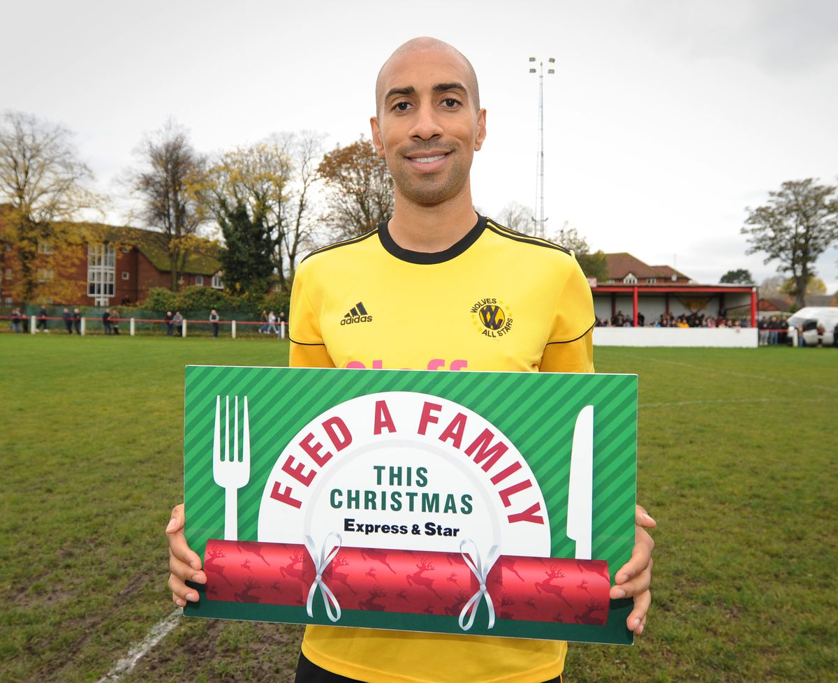 Karl Henry is supporting the Feed a Family This Christmas appeal
