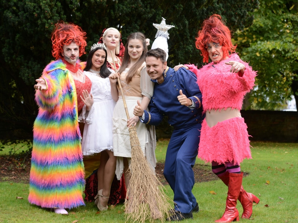 Former soap star takes centre stage in Cannock panto - in photos