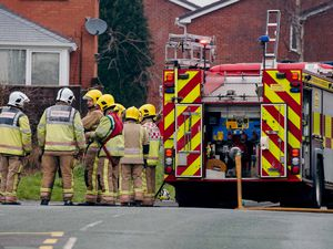 Fire crews were called to the scene. (Stock image)