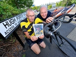 Father ready to cycle and run in Wolverhampton Half Marathon events in memory of teenage son