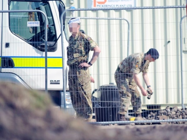 Bomb squad exploding more mortar shells in Chasetown