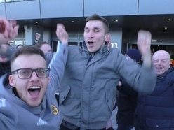 'There's no reason why we can't make the top-four!' Wolves fans jubilant after stunning Spurs win - WATCH