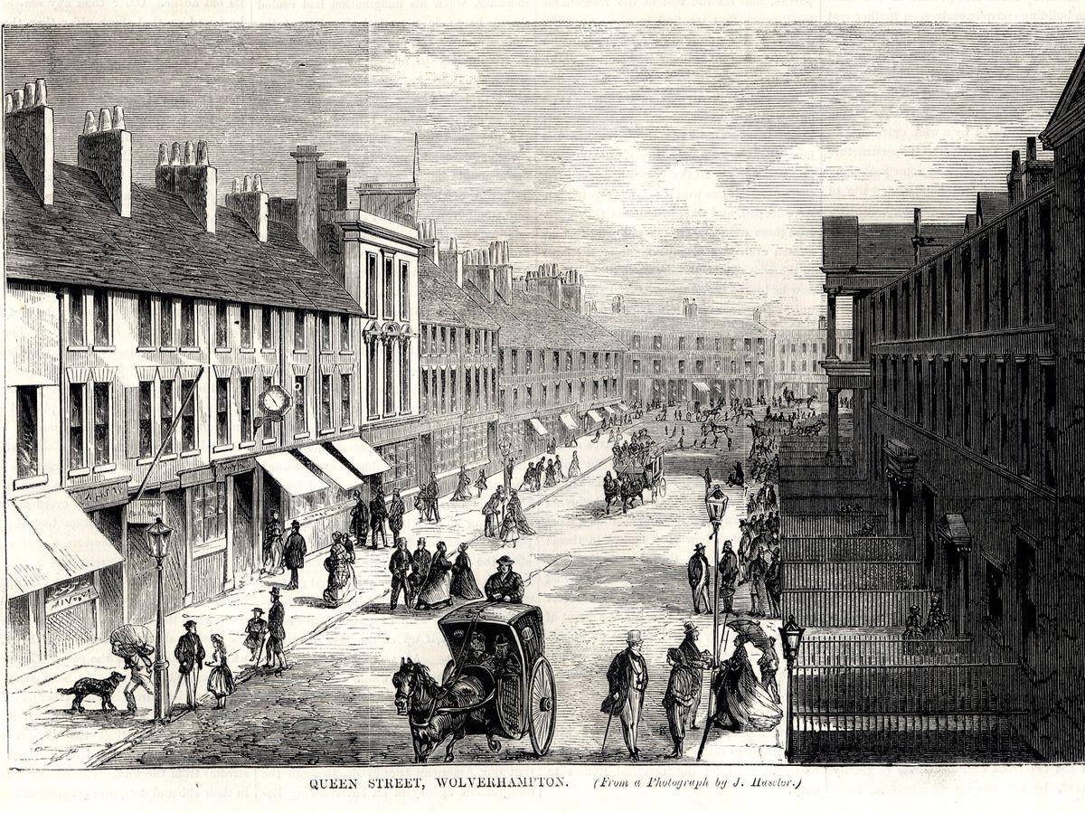 Queen Street Illustration 19th Century
