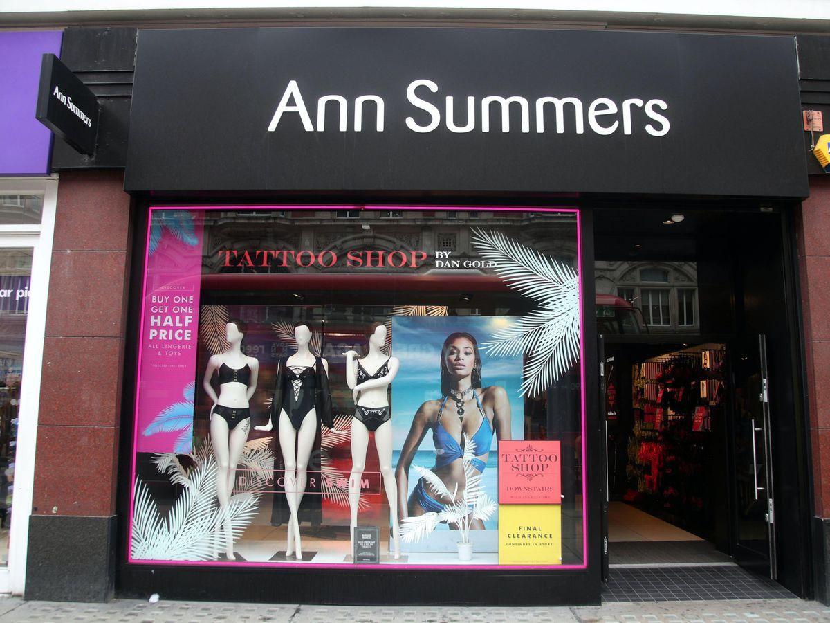 An Ann Summers store