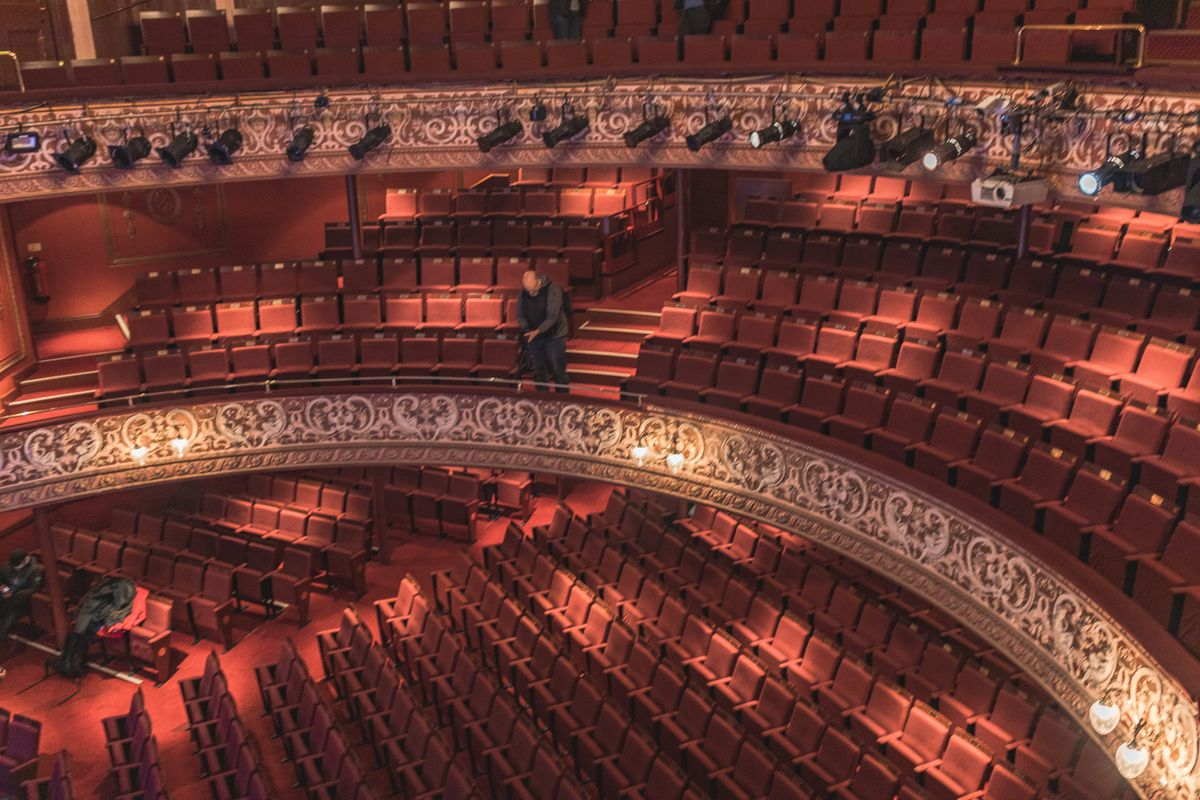 Photographers from West Midlands Photo Collective took behind-the-scenes shots at Wolverhampton's Grand Theatre. Photo: Rachel Mason