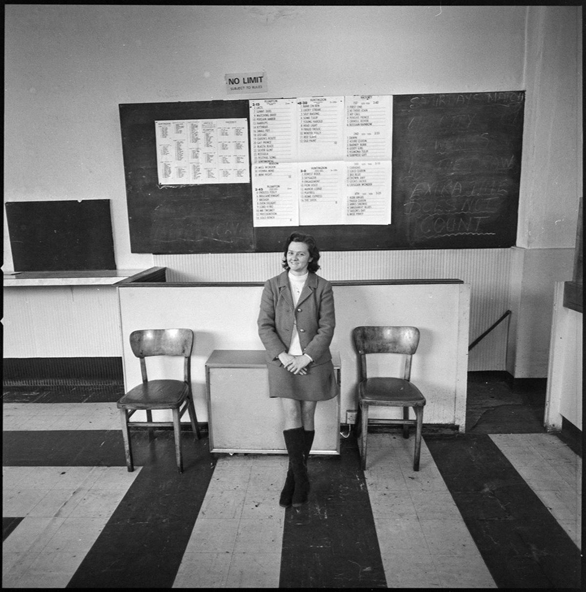 A young assistant in Jack Smith's bookmaker's office