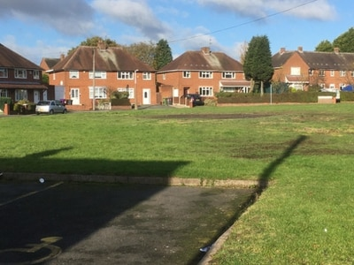 Fly-tipped bonfire site cleared up in Wednesfield