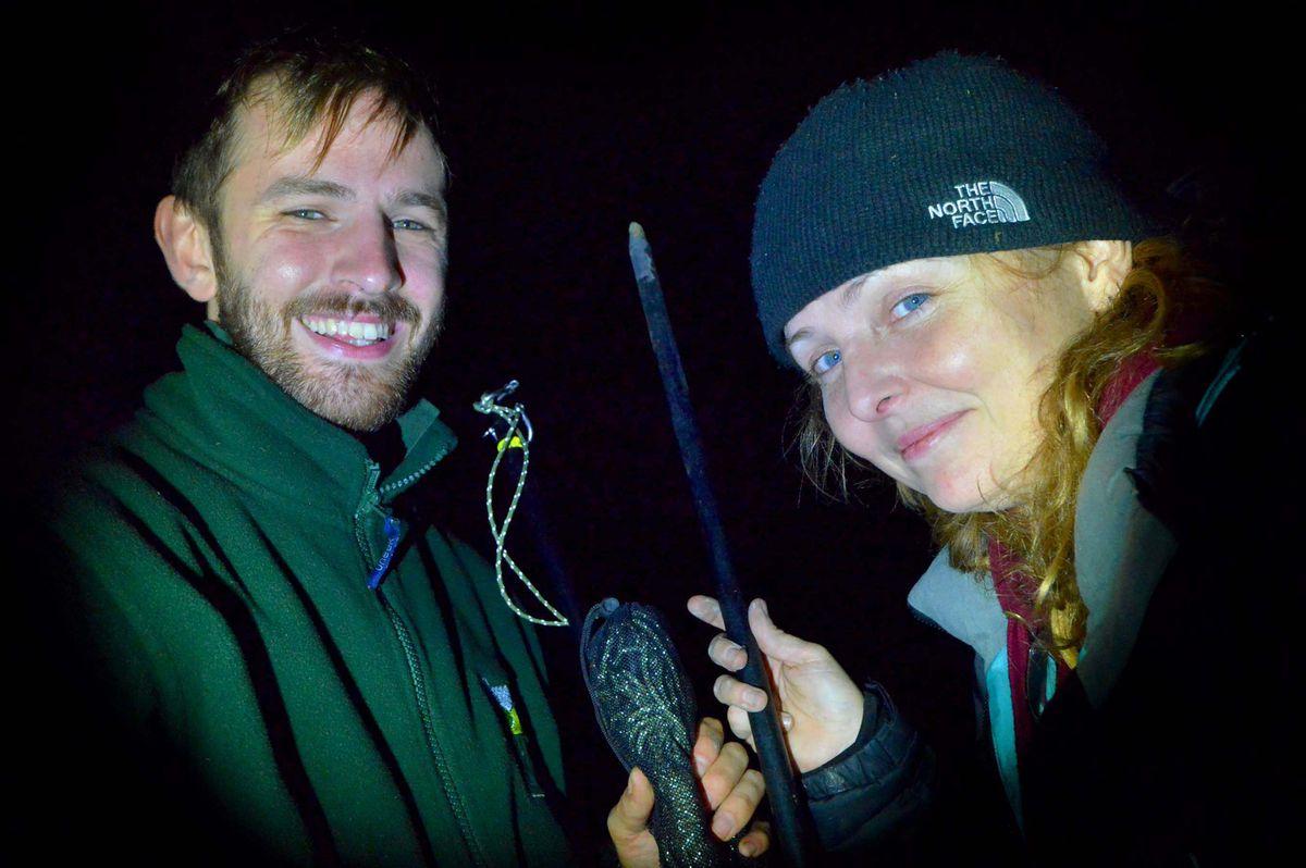 Dark times – Chris Leeson and Morgan Hughes on a bat hunt