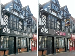 Sign of the times? Revamp plan for Stafford's historic Bear pub