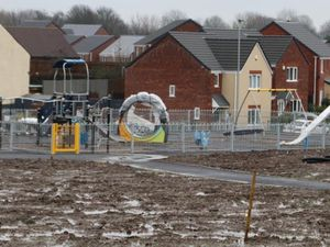 A view of the new park development in Ettingshall