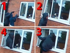 WATCH: Burglars break into Black Country home directly in front of CCTV camera