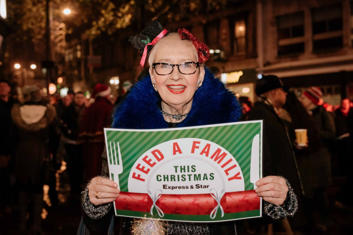 Su Pollard is backing the Feed a Family Campaign