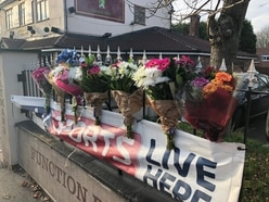 Floral tributes left in memory of man killed in Walsall Wood collision