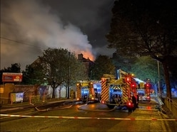 Fire at former Bilston Technical College site treated as suspected arson