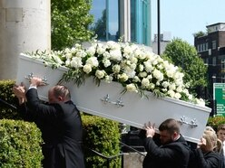 Star-studded send-off for Dale Winton as TV host laid to rest on 63rd birthday