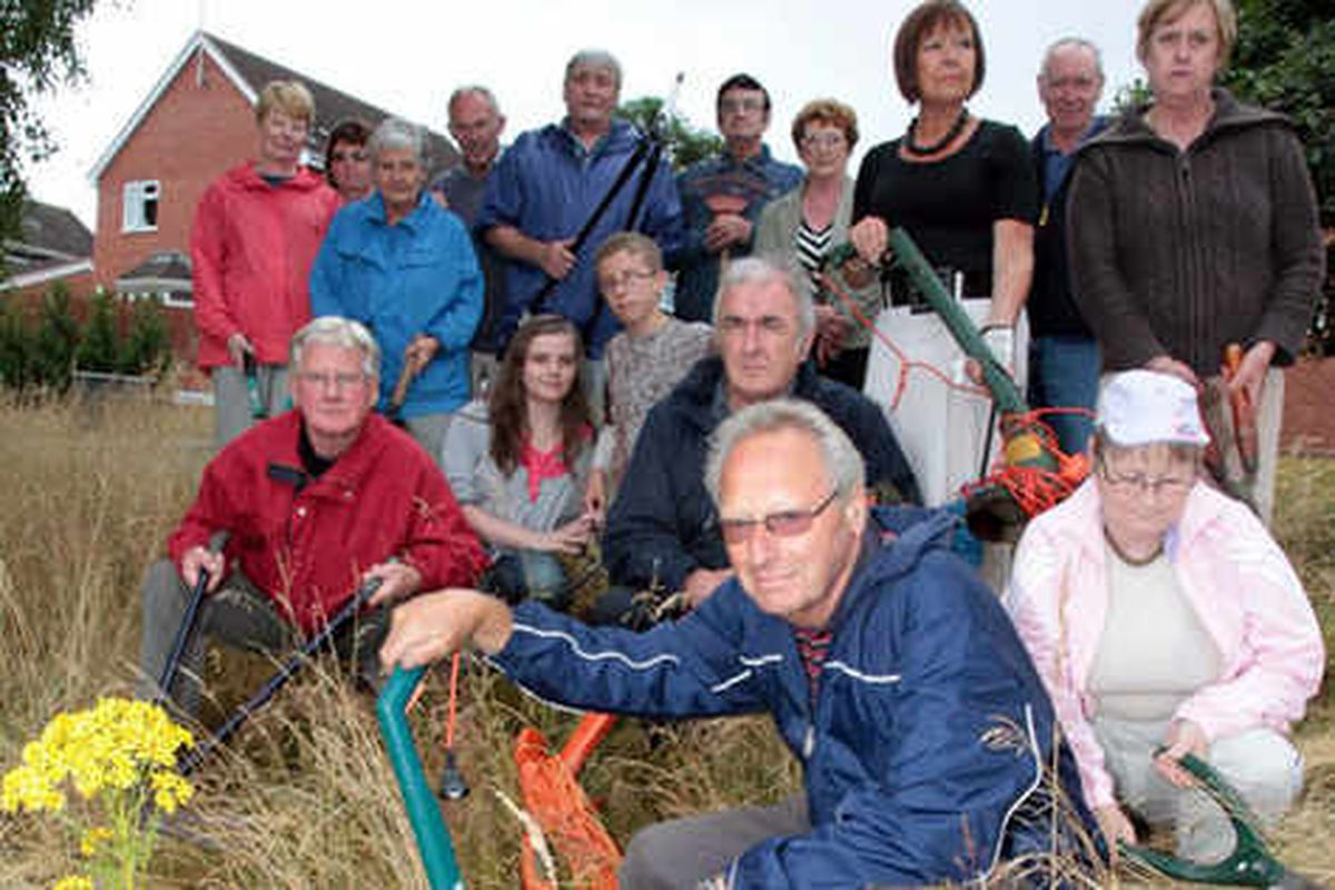 Keep off the grass, Dudley Council tells families