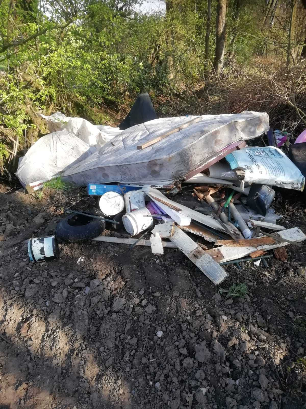 Fly-tipping has soared during the pandemic.
