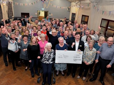 Coseley group celebrate three decades of supporting Compton Care