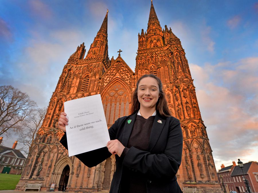 Lichfield Cathedral School student Eilidh Owen has won the National Centre for Early Music Young Composer Award 2020 in the 18 and Under category