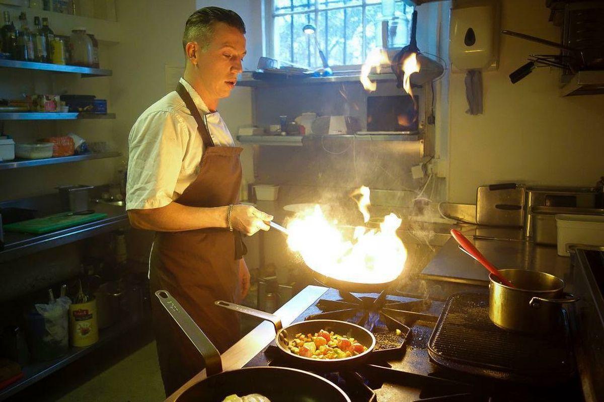 Chef Gordon Craig from Taisteal