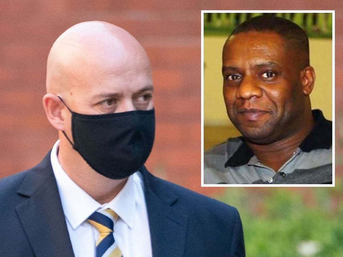 Pc Benjamin Monk denies murdering Dalian Atkinson, inset