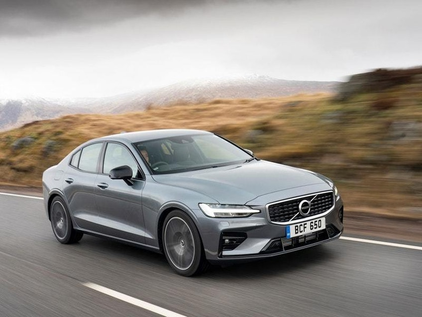 UK drive: The Volvo S60 T5 is a delightfully comfortable executive car