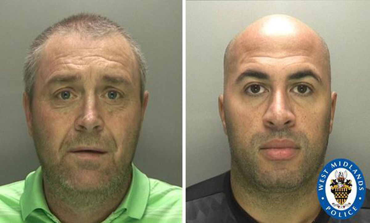 Duncan McGregor and Gary Manderson were both jailed for five years four months