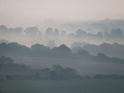 Early fog before bank holiday weekend heatwave