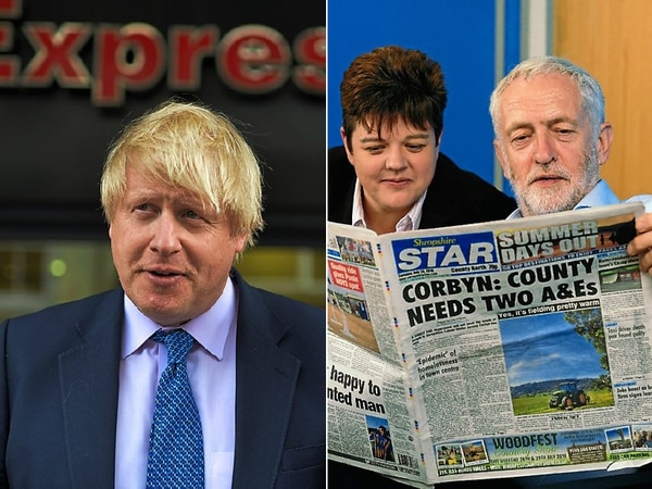Johnson and Corbyn: The real Star power in race for No 10