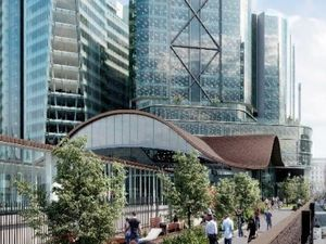 An artists' impression of how the redeveloped Snow Hill station could look - image courtesy of Birmingham City Council