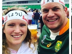 England v South Africa: Rugby-mad newlyweds on rival sides for World Cup final