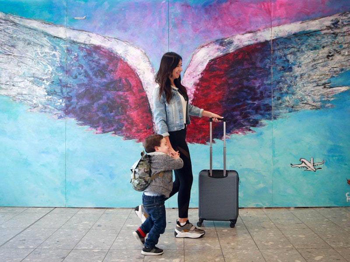 Street art at Heathrow