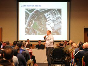 A prior consultation meeting over the proposed traveller transit site was held on Monday night