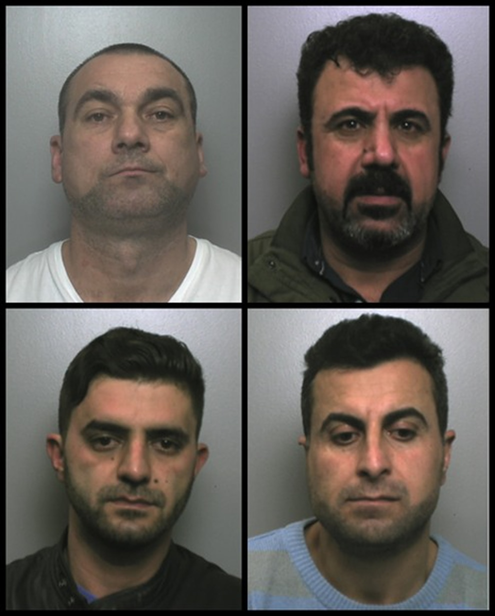 Latest News Illegal Immigrants: Four Jailed After Illegal Immigrants Travelled To M6