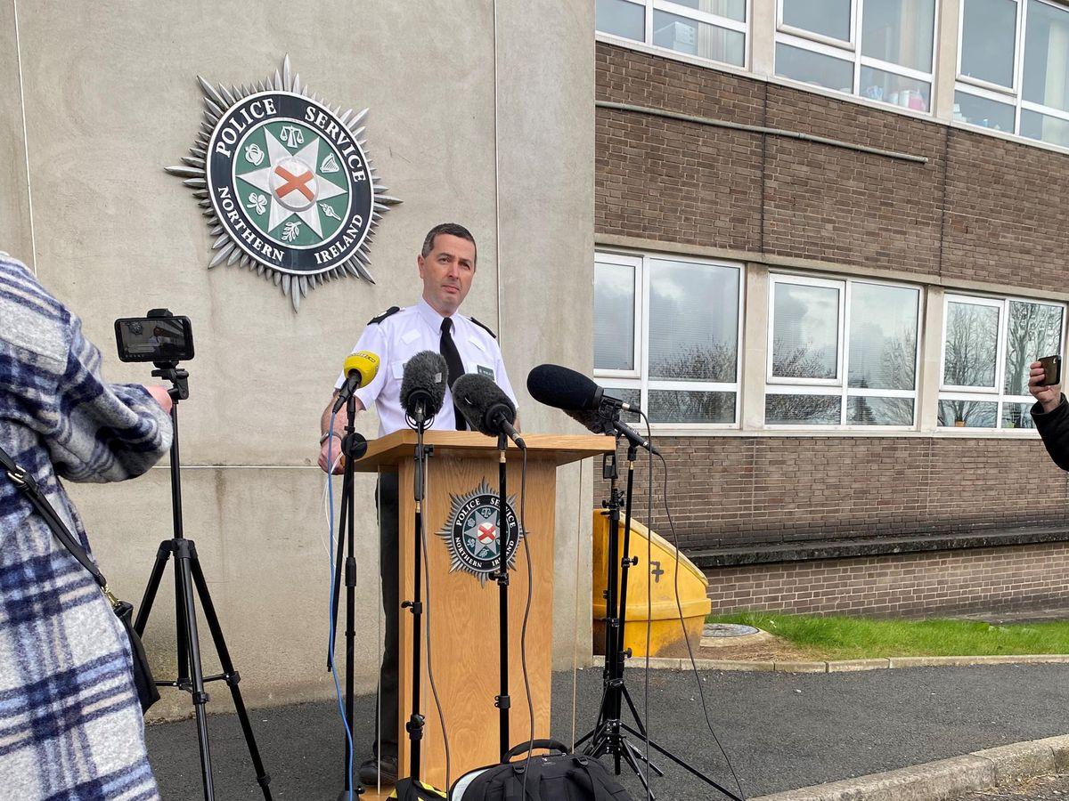PSNI Assistant Chief Constable Jonathan Roberts