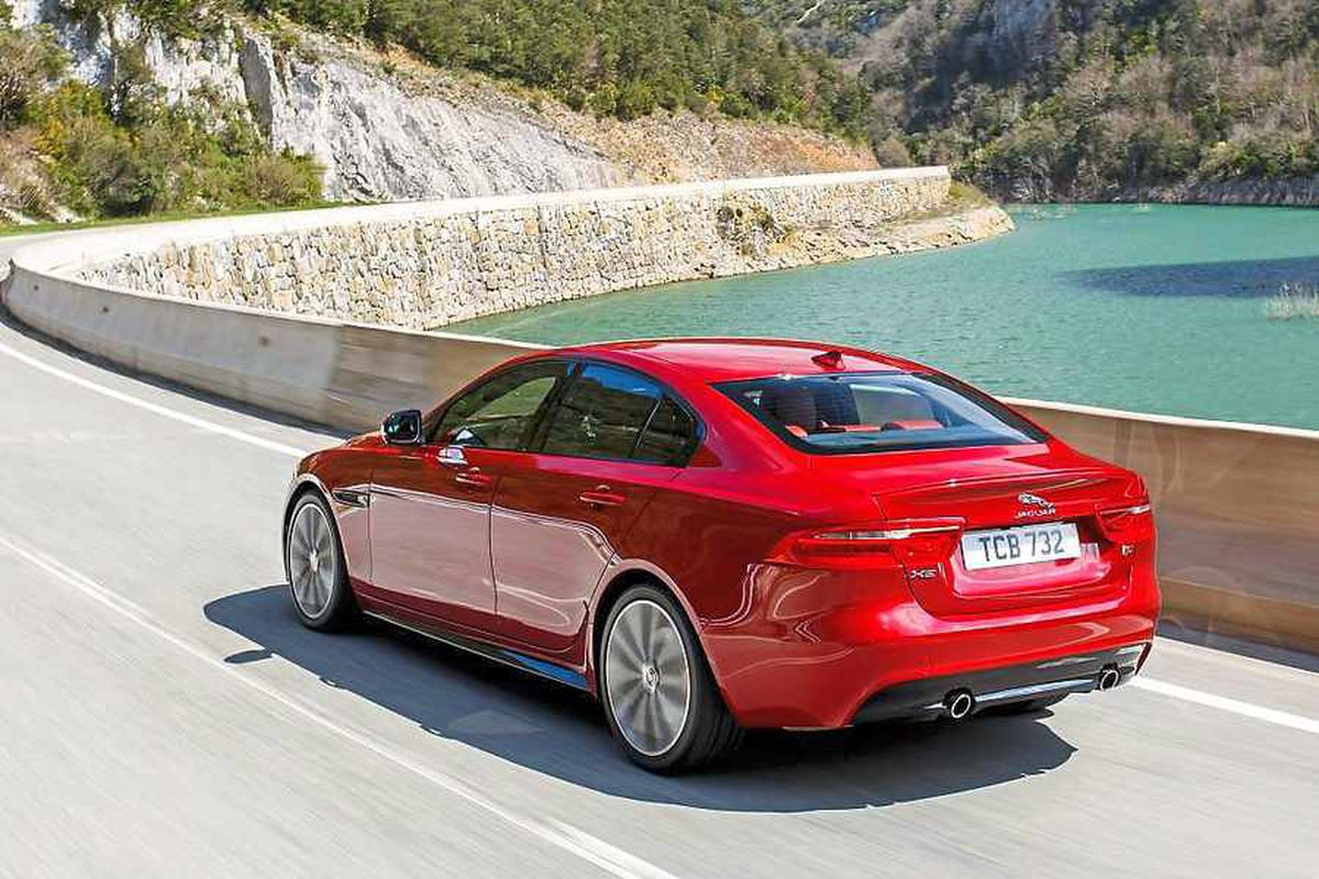 The Jaguar XE will also have petrol engines from Wolverhampton
