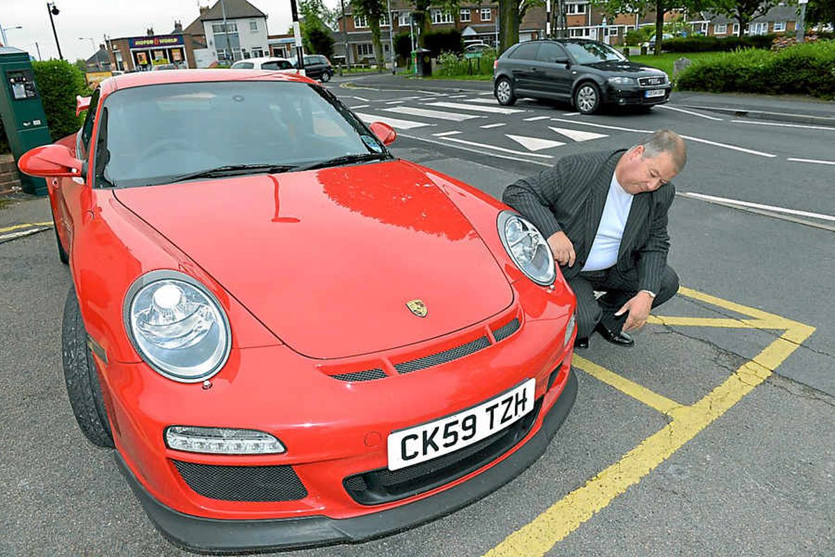 Porsche owner has got the hump over bumps