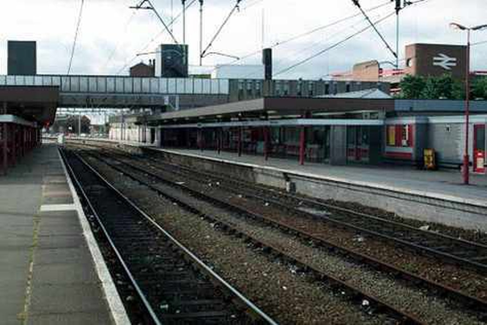Trains stopped at Wolverhampton after person injured at