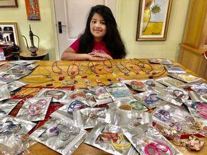 Anisha Mandal, aged eight, from Tettenhall Wood