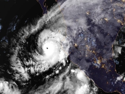 Category Five Hurricane Willa threatens Mexico's Pacific coast