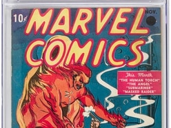 First Marvel Comics issue sells for £1m
