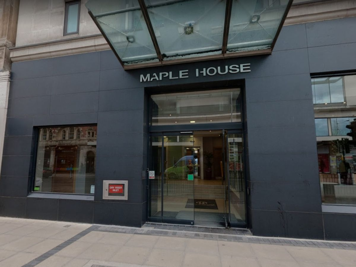 Temporary court rooms opened at Maple House in Birmingham earlier this year