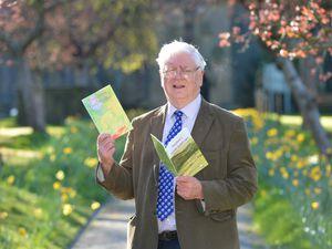Lichfield historian Trevor James, who has written two books during lockdown