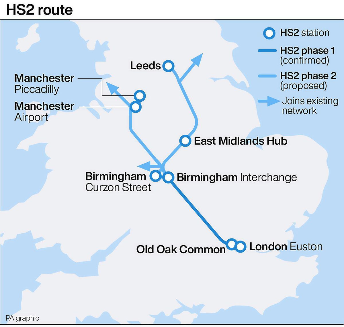 Work will get started in earnest on the HS2 route following the Government's committment to the scheme