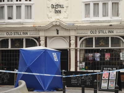 Wolverhampton pub sealed off by police as man fights for life
