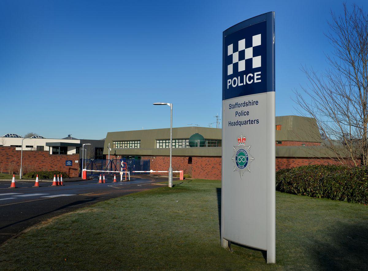 Staffordshire Police HQ in Weston Road, Stafford