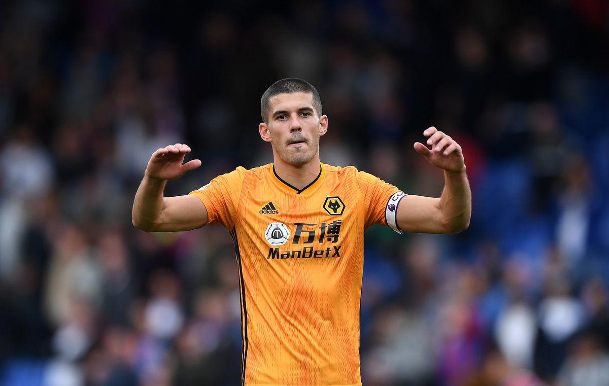 Conor Coady of Wolverhampton Wanderers. (AMA/Sam Bagnall)